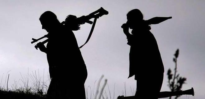Füze taşıyan 2 PKK'lı etkisiz hale getirildi