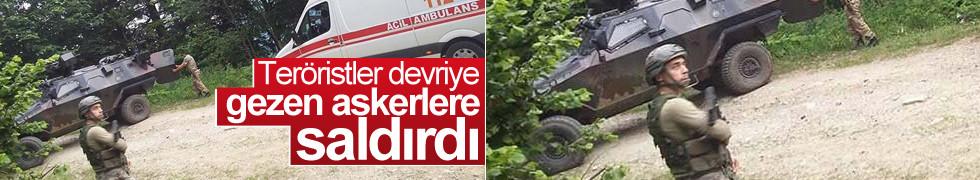 Trabzon'da PKK'dan bombalı saldırı: 2 asker yaralı