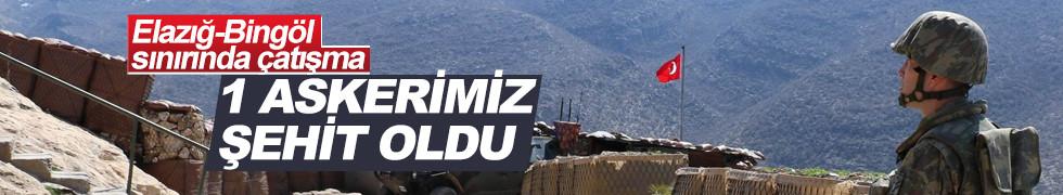 Elazığ-Bingöl sınırında çatışma