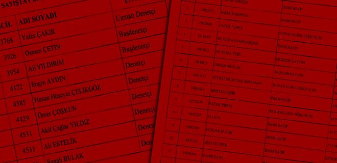 İşte isim isim tam liste...
