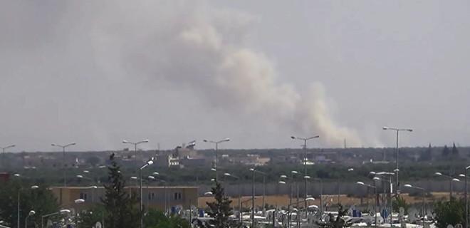 Terör örgütü PYD'nin silahlı taciz ateşine misliyle karşılık!