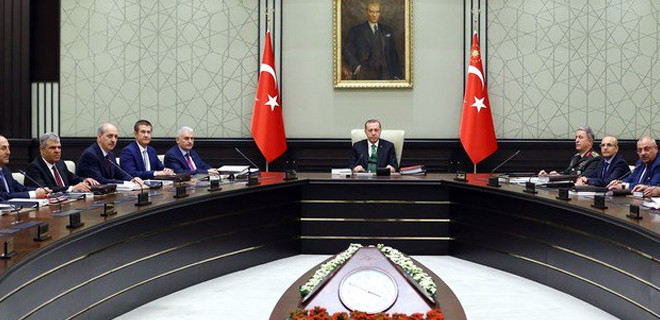 MGK bildirisi: PYD'ye verilen silahlar PKK'da ele geçiriliyor!