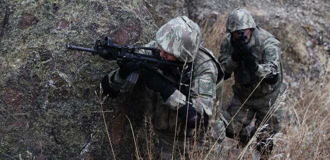 Siirt'te PKK'lı teröristlerle çatışma çıktı
