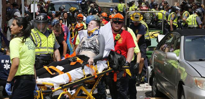 ABD'de araç göstericilerin arasına daldı: 1 ölü, 34 yaralı