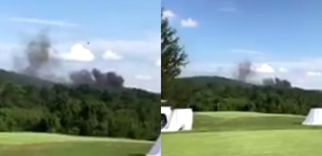 ABD'de bir polis helikopteri düştü