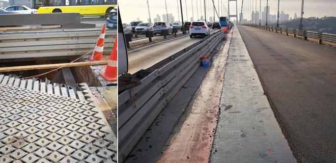 Şehitler Köprüsü'ndeki çalışma 25 Ağustos'ta bitecek