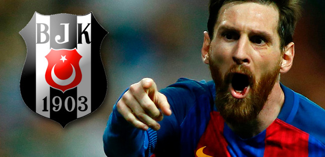 Messi'den Quaresma'ya: Come to Beşiktaş