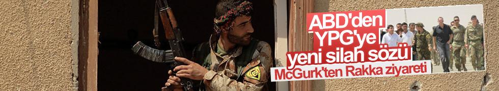 McGurk'ten YPG'ye ziyaret