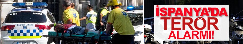 Barcelona'da bir araç kalabalığın arasına daldı: 13 ölü