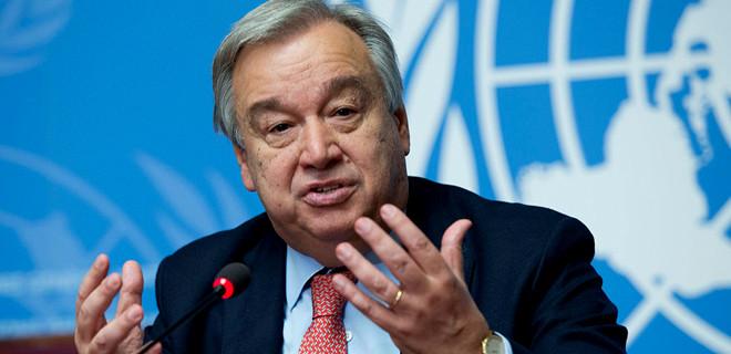BM Genel Sekreteri Guterres'ten 'Arakan' çağrısı