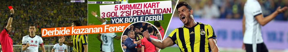 Derbide kazanan taraf Fenerbahçe