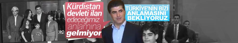 IKBY Başbakanı Barzani: Türkiye'nin bizi anlamasını bekliyoruz