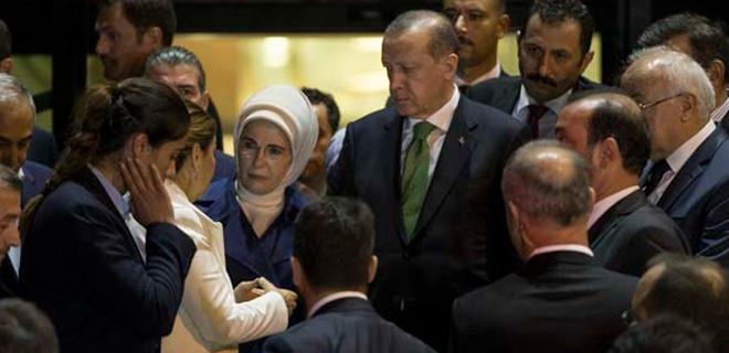 Erdoğan ailesinden taziye ziyareti