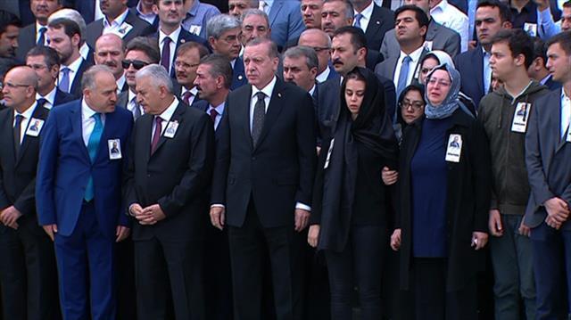 AK Partili vekil için Meclis'te tören