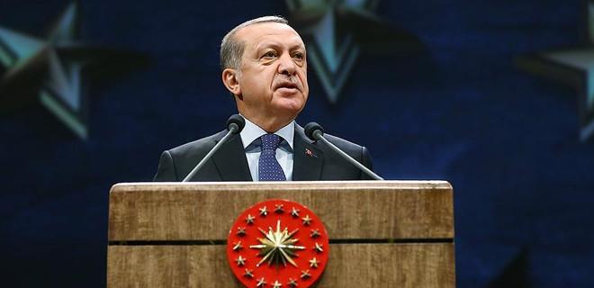 Cumhurbaşkanı Erdoğan, Valiler Toplantısı'nda konuştu