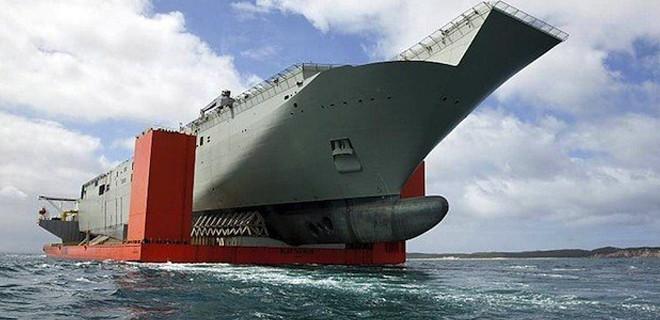 Türkiye'nin ilk uçak gemisi...