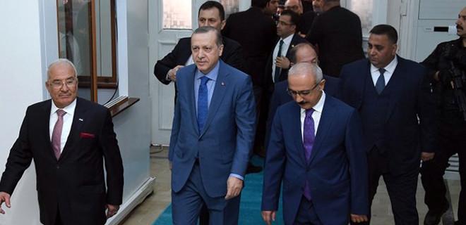 Erdoğan'dan Baykal'a ziyaret