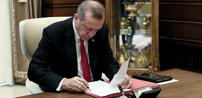 Erdoğan, iki üniversiteye rektör atadı