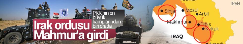 Irak ordusu Sincar ve Mahmur'u ele geçirdi