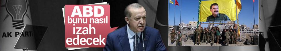 Son dakika...Erdoğan çok sert çıktı ABD Rakka'daki Öcalan'ı nasıl izah edecek!