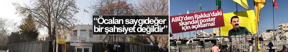 ABD Büyükelçiliği: Öcalan saygı görmeye değer değil