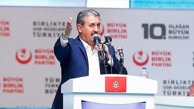 Destici, yeniden BBP Genel Başkanlığına seçildi