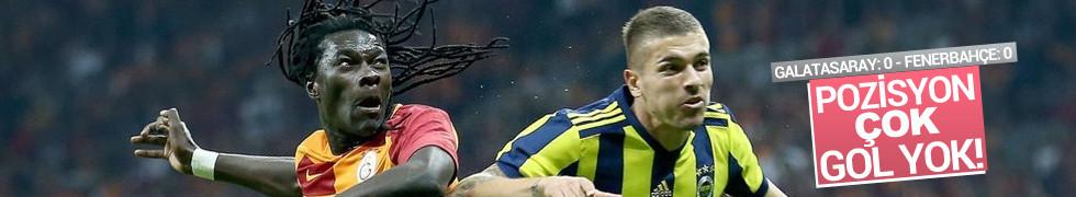 Galatasaray: 0 - Fenerbahçe: 0 | MAÇ SONUCU