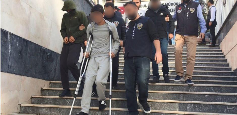 İstanbul'da organize hırsızlık çetesi çökertildi