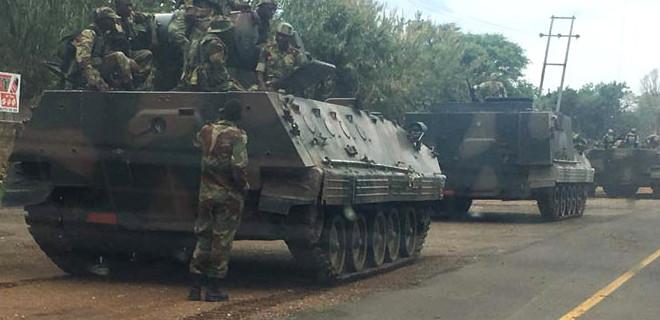Zimbabwe'de darbe mi oluyor?