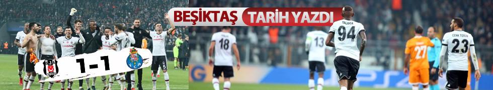 Beşiktaş grupta liderliği garantiledi