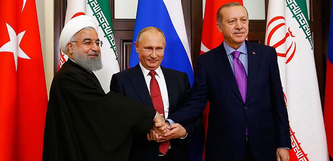 Soçi'de Suriye zirvesi sona erdi