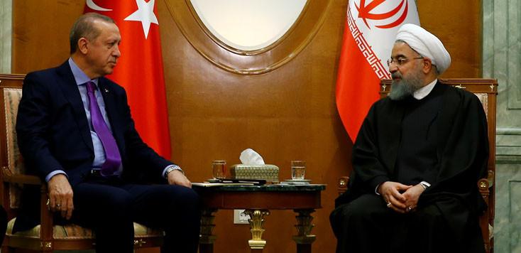 Üçlü zirve öncesi Ruhani ile kritik görüşme