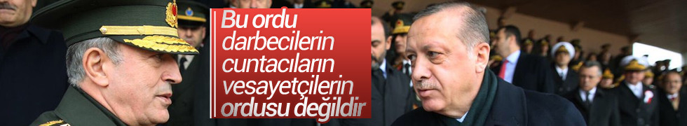 Cumhurbaşkanı Erdoğan: TSK'ya yapılan her saldırı şahsıma yapılmıştır