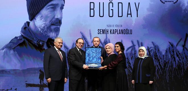 Cumhurbaşkanı Erdoğan Buğday filminin galasına katıldı...