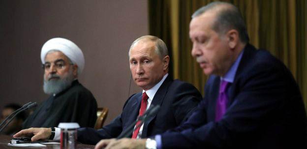 Cumhurbaşkanı uçakta Soçi zirvesini anlattı