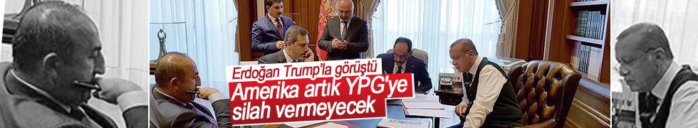 Cumhurbaşkanı Erdoğan Trump'la görüştü