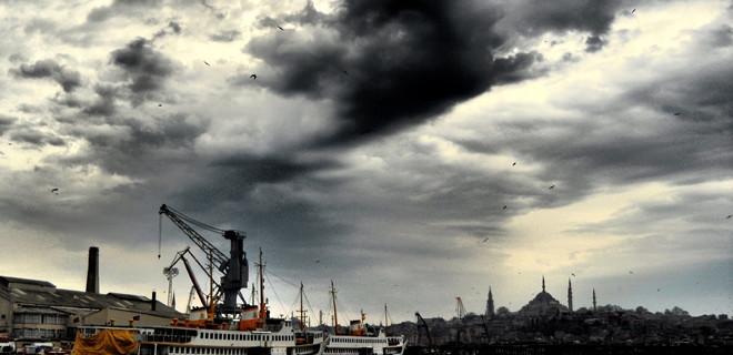 Radyasyon yüklü bulutlar İstanbul üzerinden geçti