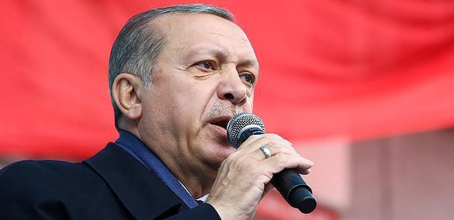 Cumhurbaşkanı Erdoğan: Ey Trump sen ne yapmaya çalışıyorsun