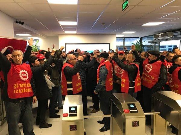CHP'li belediyeye işçi baskını