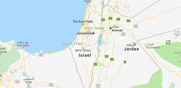 Google ve Yandex Kudüs'ü 'İsrail'in başkenti' yaptı!