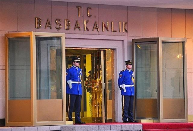 Başbakanlık'ta özel güvenlik toplantısı