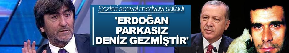 Erdoğan parkasız Deniz Gezmiş'tir