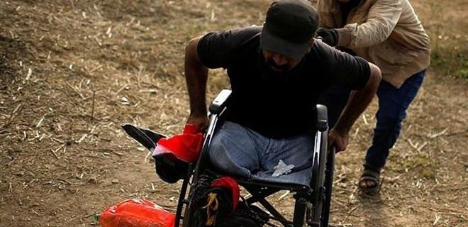 İsrail askerleri engelli protestocuyu öldürdü