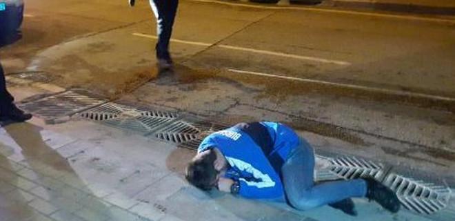 Kaza yaptı, yere yatıp hüngür hüngür ağladı