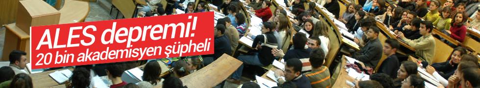 2005-2013 yılları arasındaki ALES sınav sorularının çalındığı belirlendi