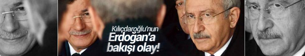 Kılıçdaroğlu'nun Erdoğan'a bakışı olay! Cenazede el sıkışmadılar