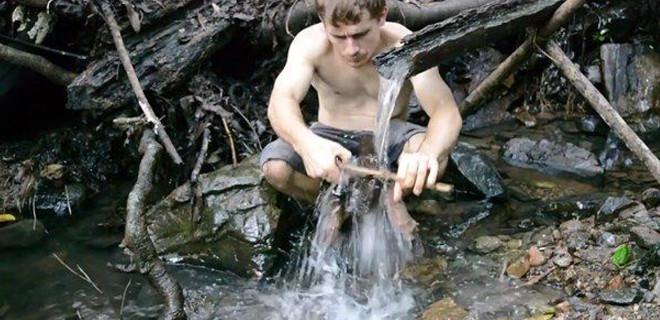Su gücüyle bakın ne yaptı!