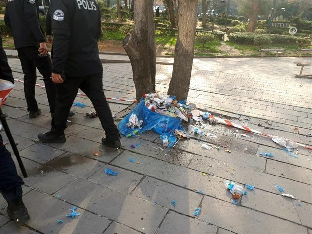 Ankara'da şüpheli paket alarmı