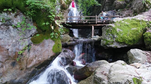 Kahramanmaraş'ın saklı cenneti Çokran Şelalesi
