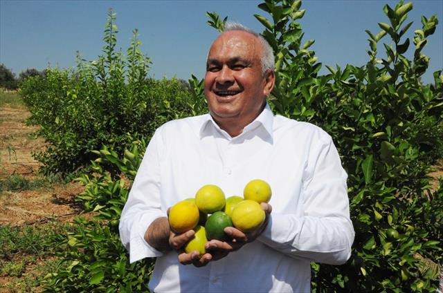 Başkandan cezeryeli ihracatlık limon kesimi
